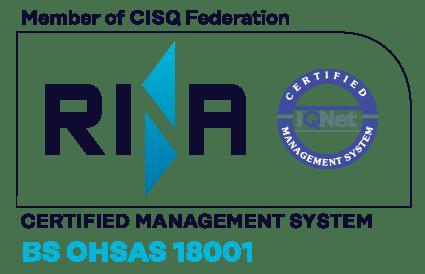 Logo RINA BS-OHSAS-18001 - Mariani Srl