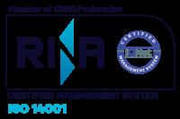Logo RINA ISO-14001 - Mariani Srl