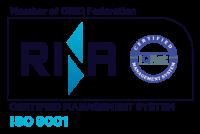 Logo RINA ISO-9001 - Mariani Srl