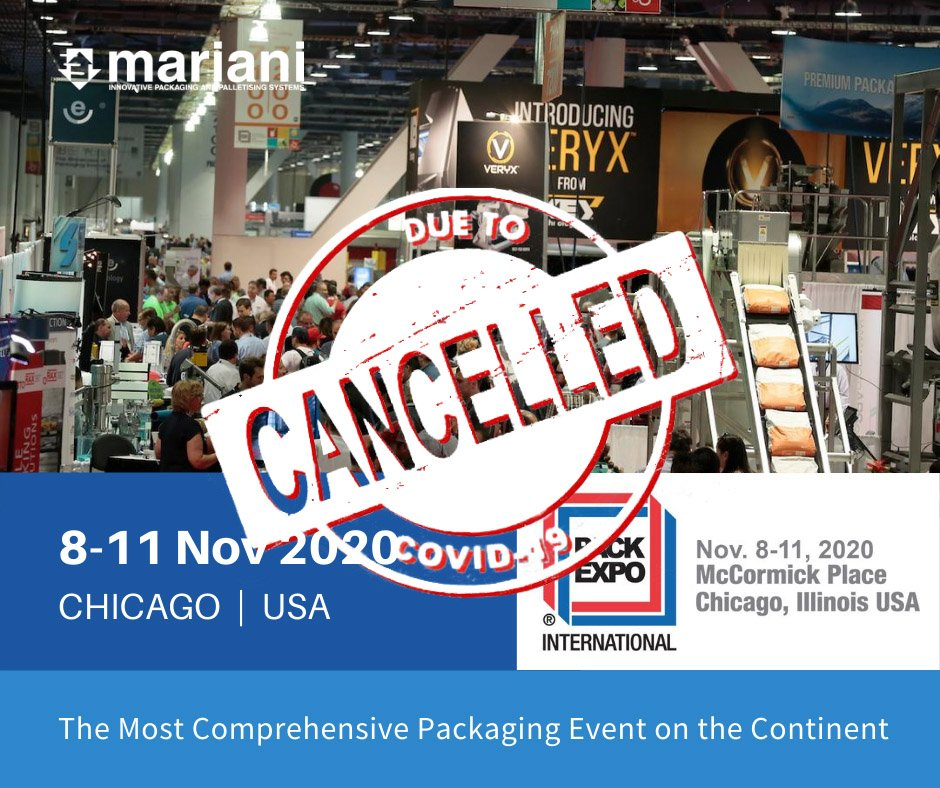 PACK EXPO 2020 CHICAGO - Mariani Srl
