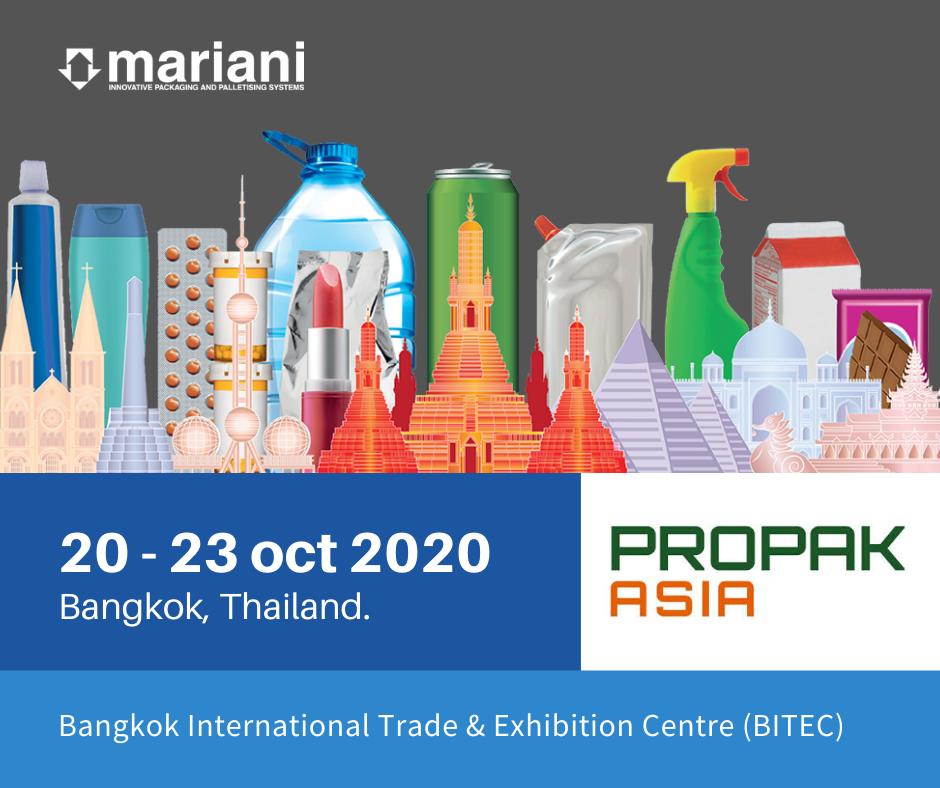PROPAK 2020 - Mariani Srl