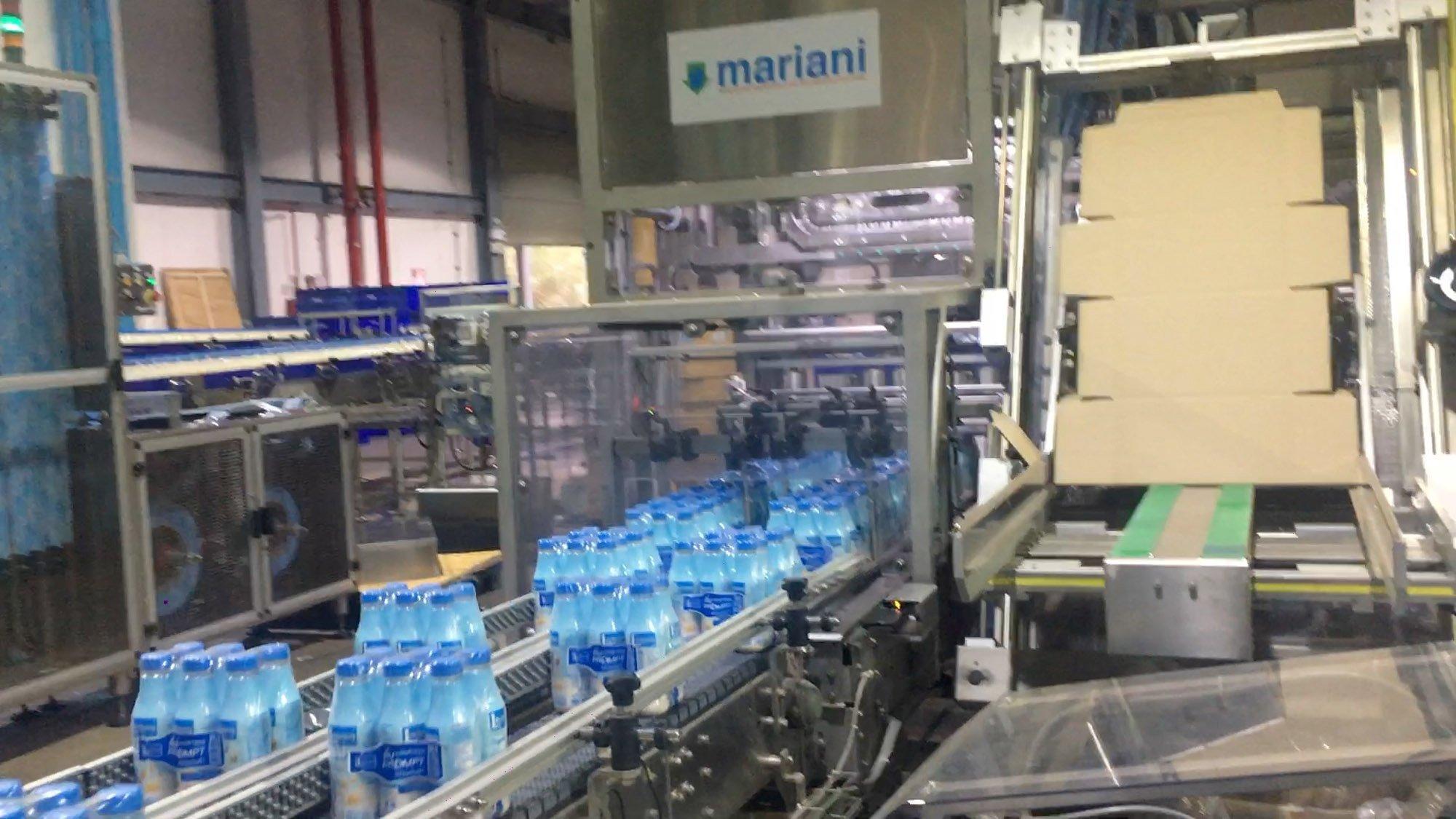 Bottles line - Mariani Srl