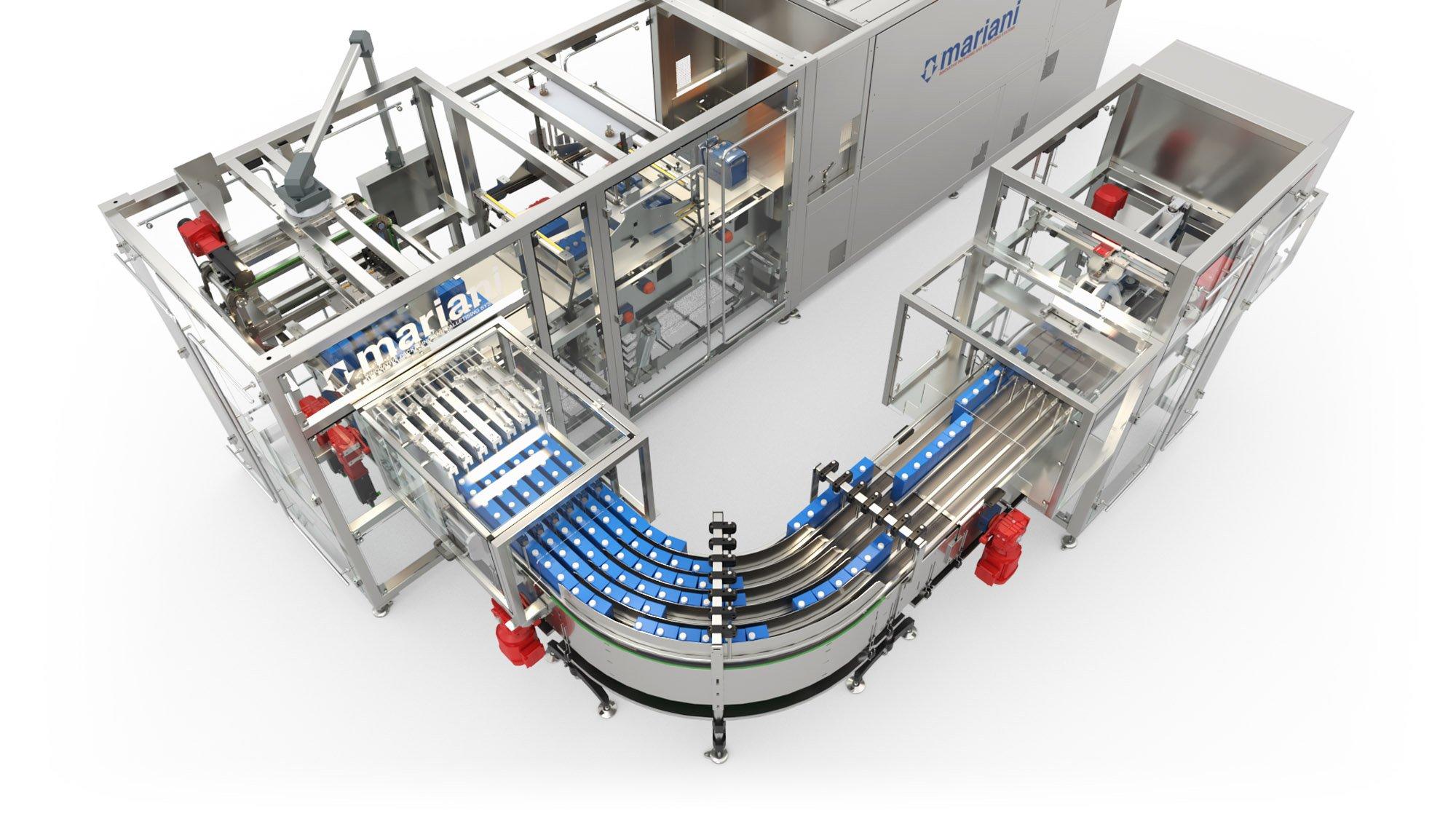 TRM-700 LF accumulation conveyors 1 - Mariani Srl
