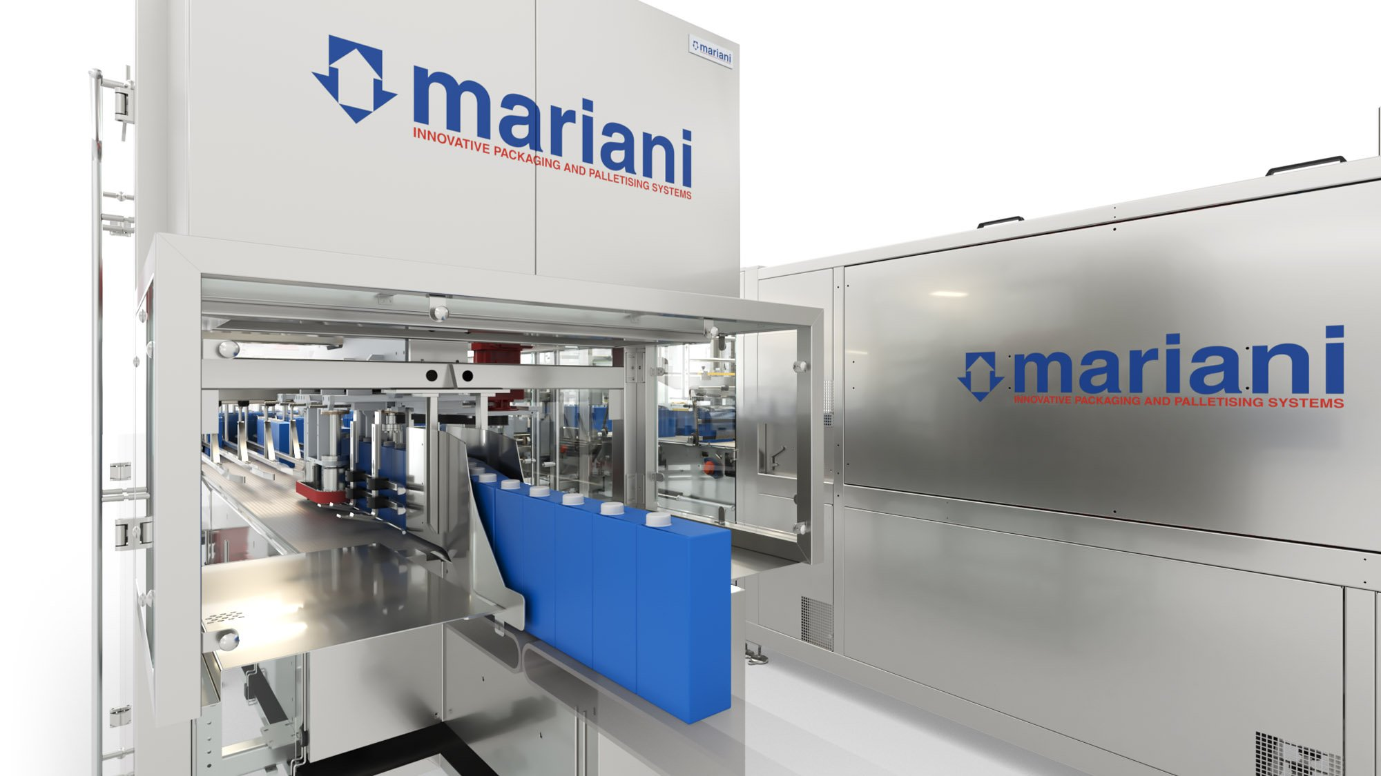 TRM-700 LF divider infeed - Mariani Srl