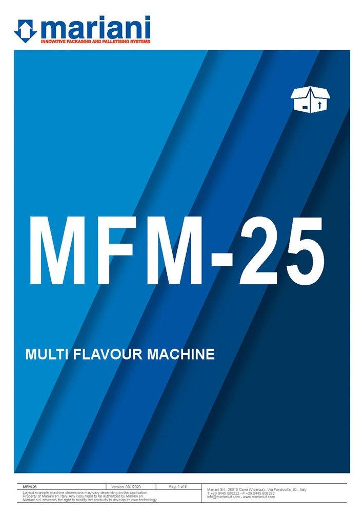MFM-25 cover - Mariani Srl
