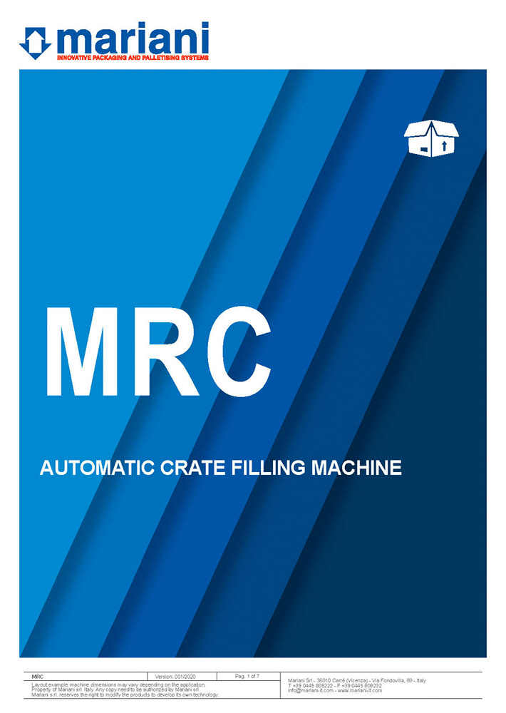 MRC cover - Mariani Srl