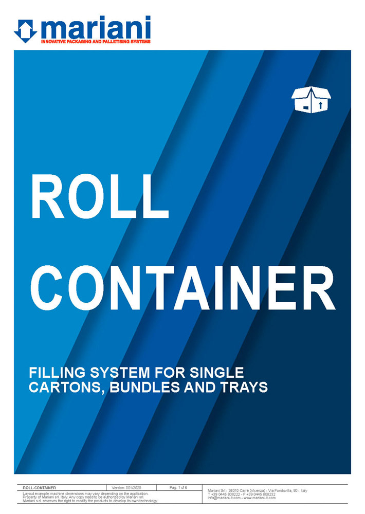 Roll container cover - Mariani Srl