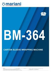 BM-364 ENG - Mariani Srl