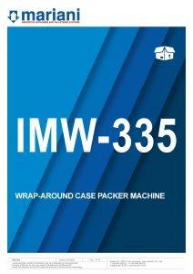 IMW-335 ENG - Mariani Srl