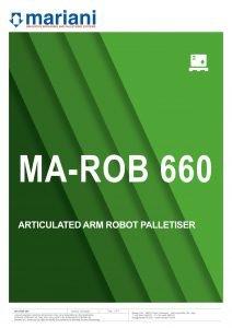 MA-ROB 660 ENG - Mariani Srl