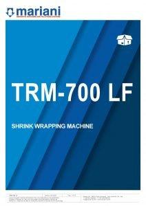 TRM 700 LF ENG - Mariani Srl