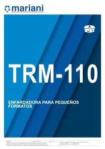 TRM-110 ESP - Mariani Srl