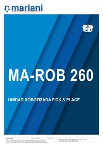 MA-ROB 260 - Mariani Srl