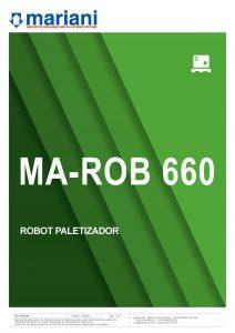 MA-ROB 660 ESP - Mariani Srl