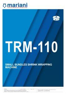 TRM-110 ENG - Mariani Srl