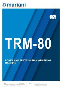 TRM-80 ENG - Mariani Srl