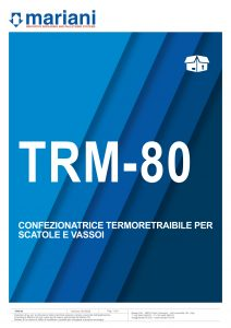 TRM-80 ITA - Mariani Srl